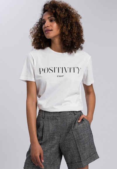 MARC AUREL T-Shirt mit Mottoprint