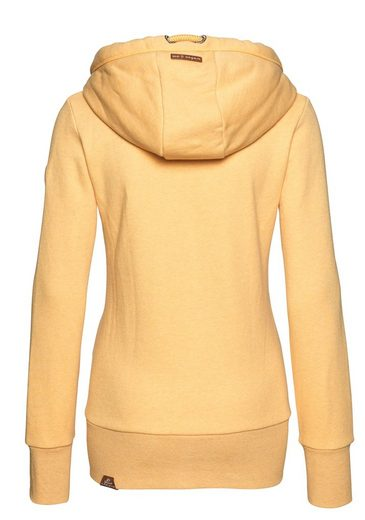 Großer Rabatt Ragwear Sweatjacke »NESKA ZIP« mit extra breiten Rippbündchen