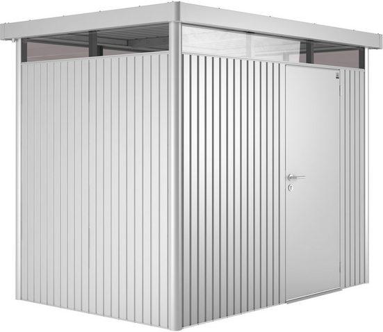 Biohort Gerätehaus »Highline H2«, BxT: 275x195 cm, Stahl, BxTxH: 275x195x222 cm