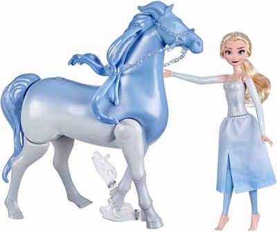 Hasbro Anziehpuppe »Die Eiskönigin 2 - Wasserzauber und Landspaß Elsa & Nokk«, Pferd Nokk mit Funktion