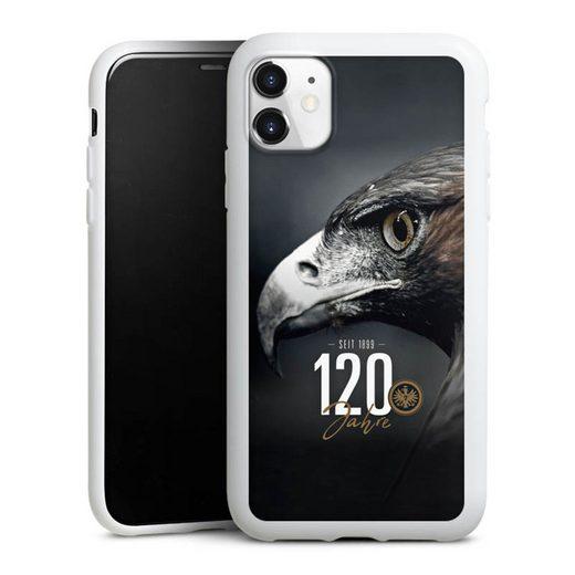 DeinDesign Handyhülle »120 Jahre Eintracht« Apple iPhone 11, Hülle Eintracht Frankfurt Offizielles Lizenzprodukt 120 Jahre
