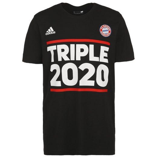 adidas Performance T-Shirt »Fc Bayern München Triple 2020«
