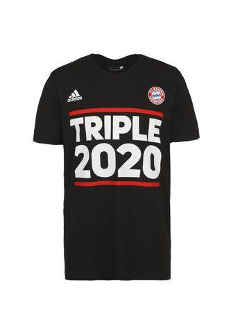 adidas Performance Marškinėliai »Fc Bayern München Triple...