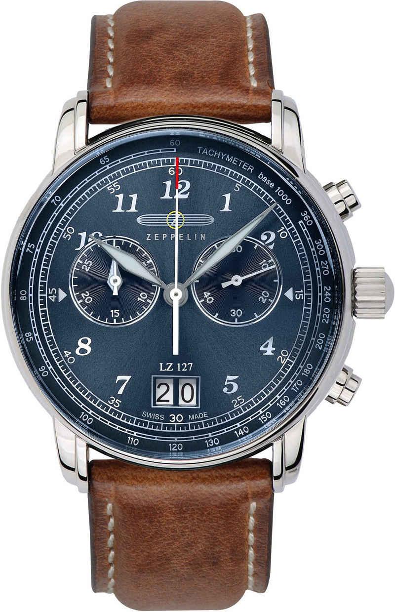 ZEPPELIN Chronograph »LZ 127, Airline Bordshop Edition, 8684-3_AIR«
