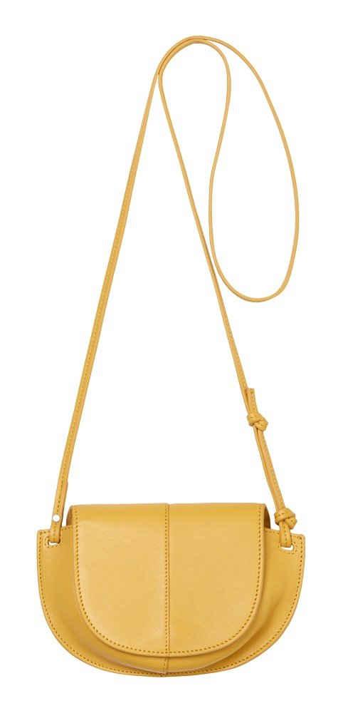 Marc O'Polo Umhängetasche »Crossbody Bag«, aus echtem Leder mit schöner Ziernäht