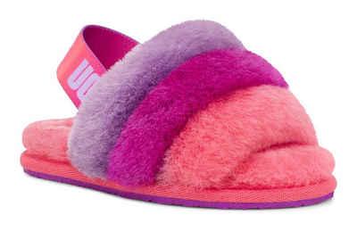 UGG »Fluff Yeah Slide« Sandale für drinnen und draußen