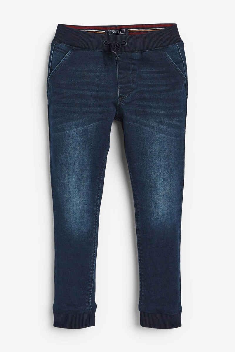 Next Dehnbund-Jeans »Superweiche Jogginghose im Jeans-Look-Slim-Fit« (1-tlg)