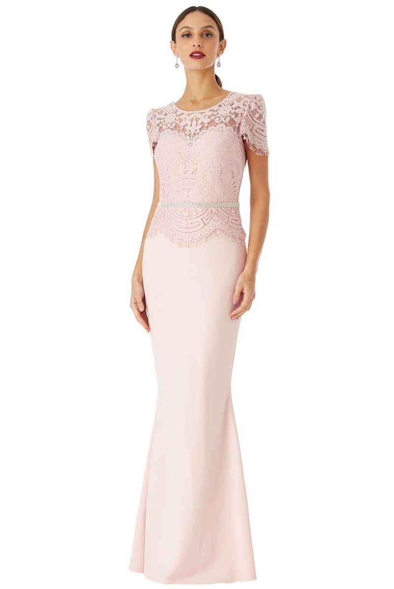 VictoriaV Abendkleid »Abendkleid mit Spitze und Strass«