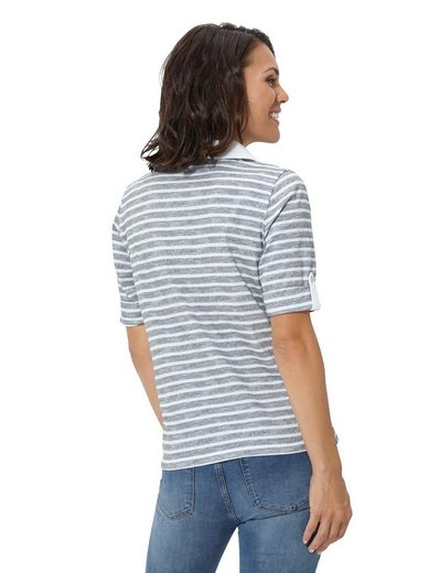 Pure Wear Shirt im attraktiven Ringeldessin