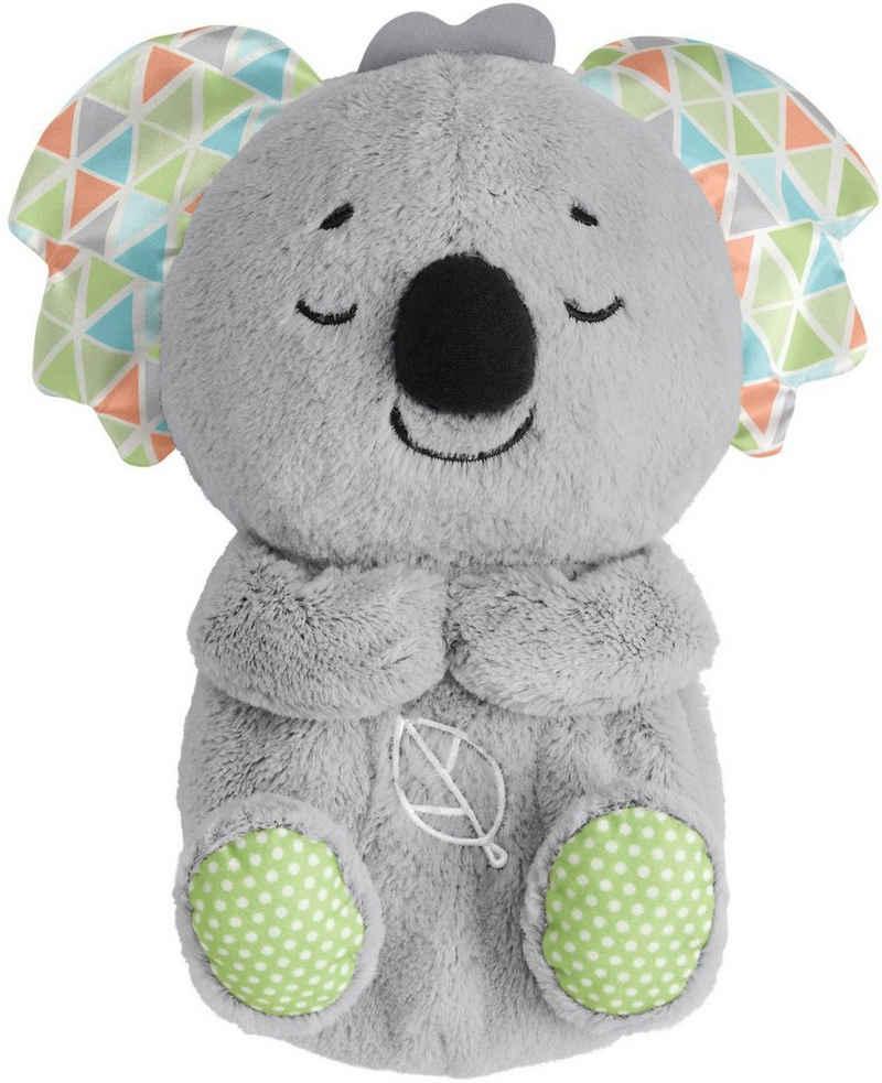 Fisher-Price® Plüschfigur »Schlummer-Koala«, Einschlafhilfe, mit Timer, Musik, Naturgeräuschen und mehrfarbigen Lichtern