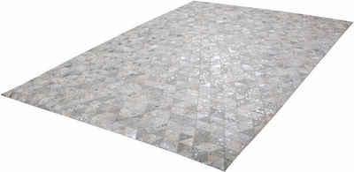 Fellteppich »Audra 400«, calo-deluxe, rechteckig, Höhe 8 mm, echtes Rinderfell, Wohnzimmer