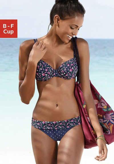 Buffalo Bügel-Bikini-Top »Evi«, im trendigen Mustermix