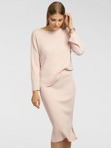 Apart Strickkleid als Ripp-Pullover und Rock
