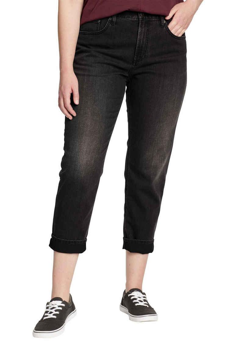 Eddie Bauer 7/8-Jeans Boyfriend Jeans - High Rise