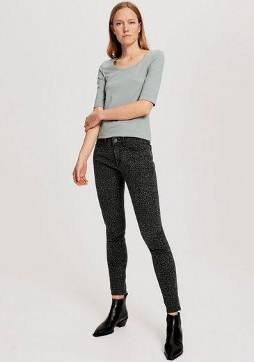 OPUS T-Shirt »Daily F« im Basic-Look
