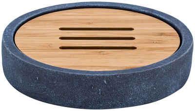 Ridder Seifenschale »Cement«, Breite: 14 cm, Ø 7,6 cm, rund