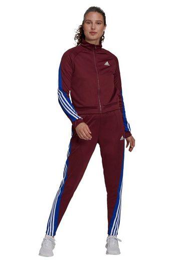 adidas Performance Trainingsanzug »WOMEN TEAMSPORT TRACKSUIT«