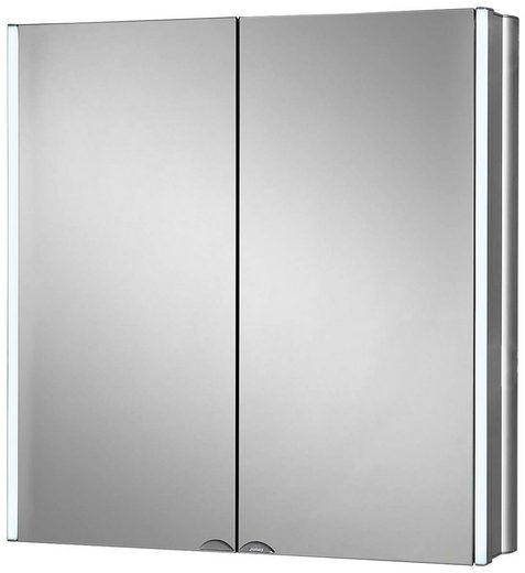 Jokey Spiegelschrank »LyndAlu« Breite 65 cm, mit LED-Beleuchtung