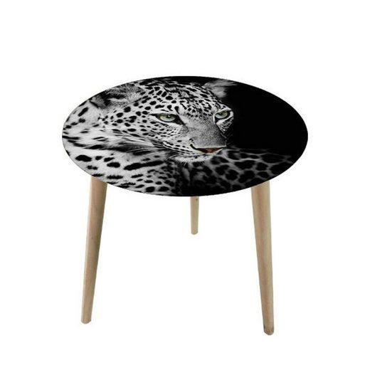 HTI-Line Beistelltisch »Beistelltisch Wildlife Leopard«