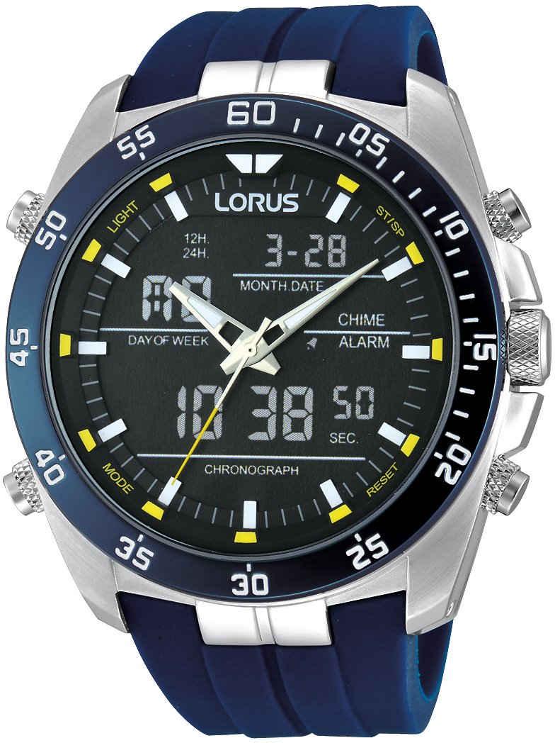 LORUS Chronograph »Lorus Sport Chronograph analog digital, RW617AX9«