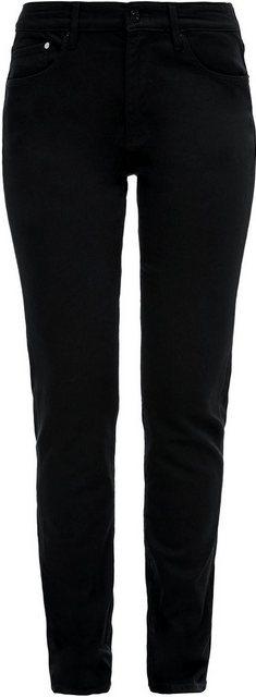 Hosen - s.Oliver Slim fit Jeans »Betsy« in Basic 5 Pocket Form › grau  - Onlineshop OTTO