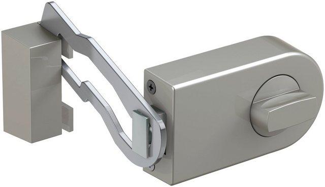 BASI Türzusatzschloss »Dornmaß 70 mm - silber (abgerundet), Sperrbügel«, Kastenschloss KS 500