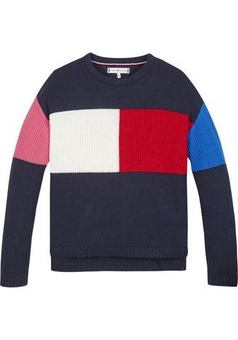 TOMMY HILFIGER Megztinis im Colorblocking