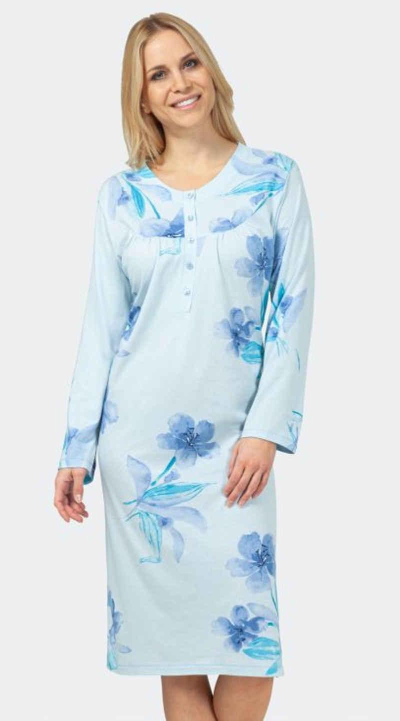 Hajo Nachthemd »Hajo Damen Nachthemd« Baumwollmischung