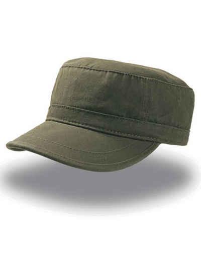 Atlantis Army Cap »Cuba-Cap Military Kappe Warrior« Vollständig geschlossen auf der Rückseite