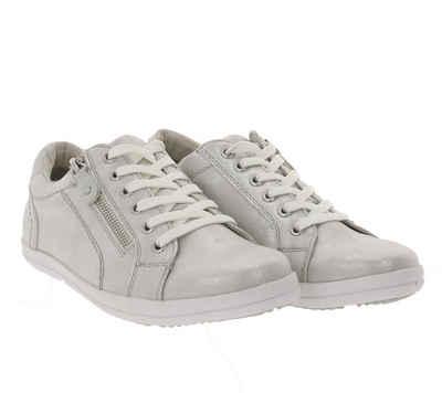 Arizona »ARIZONA Sneaker funkelnde Damen Turnschuhe Schnür-Schuhe Antik-Look Sommer-Schuhe Silber« Sneaker