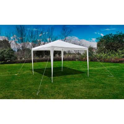 vidaXL Anbaupavillon »vidaXL Partyzelt PE Gartenzelt Garten Pavillon Festzelt Zelt mehrere Auswahl«