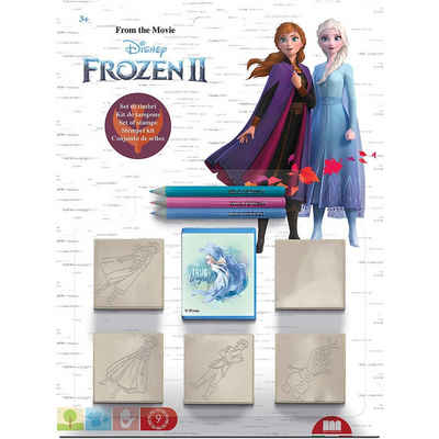 Disney Frozen Stempel »Frozen 2 Stempel, 5 Stück im Blister«