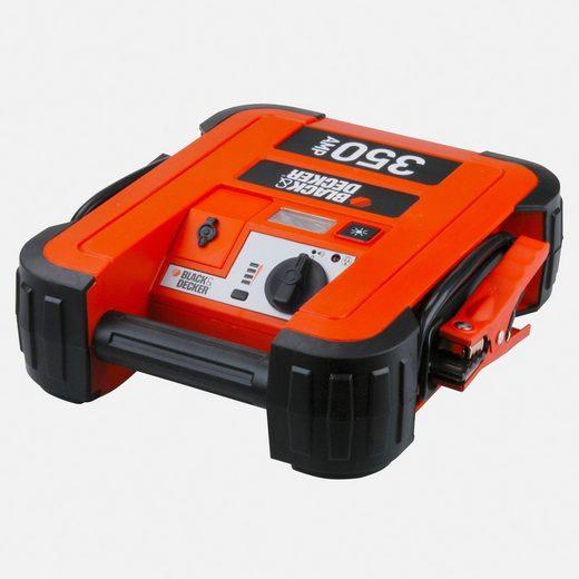 BLACK + DECKER Batterieladegerät »Sofort-Starthilfe 350A«