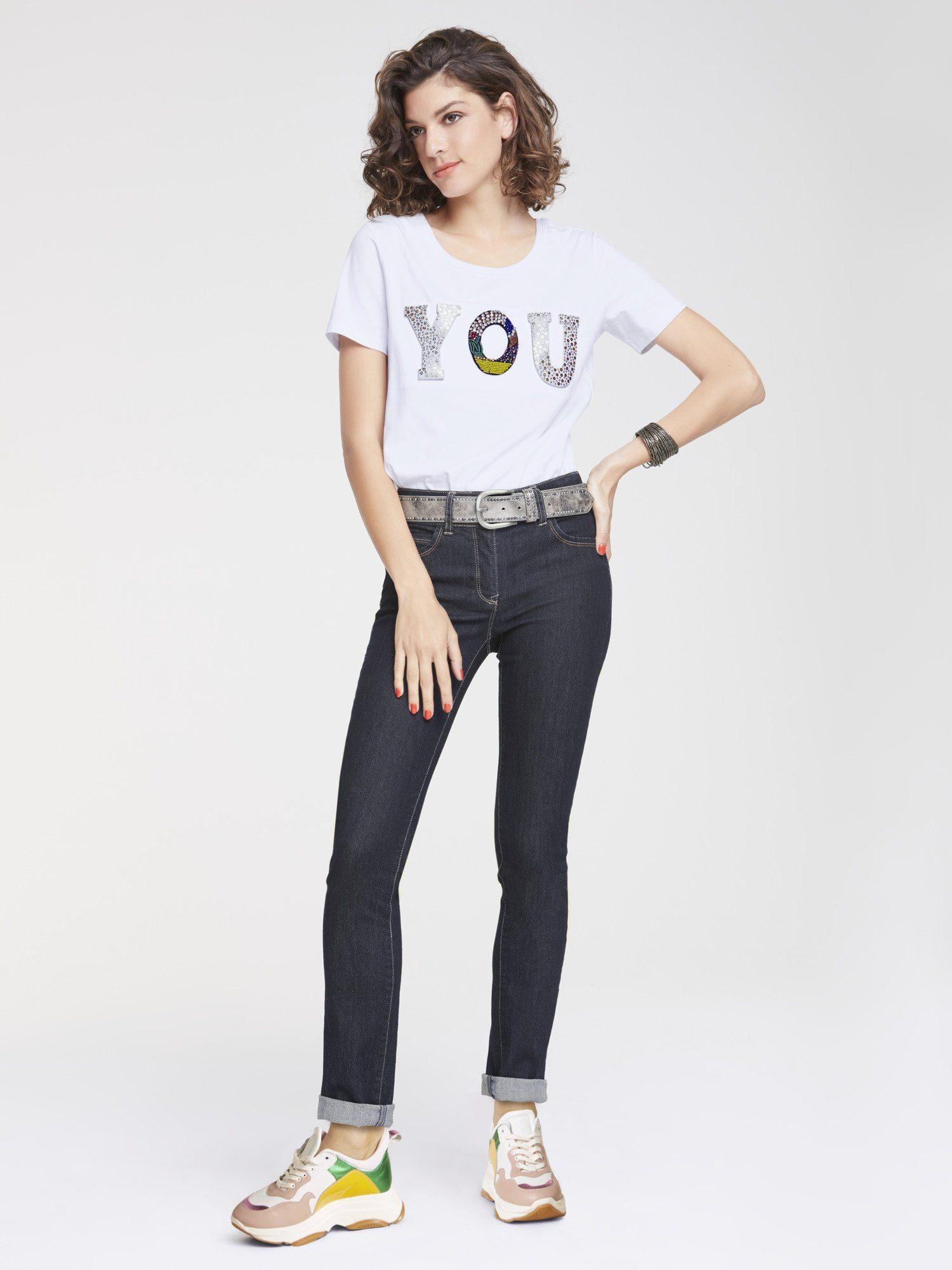RICK CARDONA by Heine Bauchweg Jeans Aleria mit Push up Effekt online kaufen   OTTO