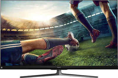 Hisense 55U8QF QLED-Fernseher (139 cm/55 Zoll, 4K Ultra HD, Smart-TV, Quantum Dot Technologie, 120Hz Panel, USB-Recording, JBL sound, Alexa Built-in)