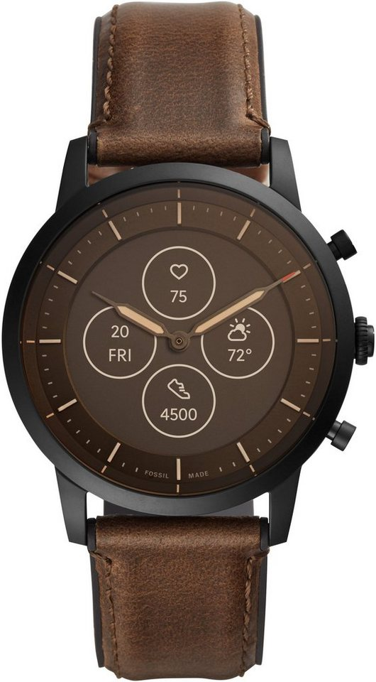Fossil Smartwatches Collider Hybrid Smartwatch Hr Ftw7008 Smartwatch Proprietar Online Kaufen Otto
