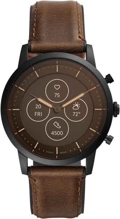 Fossil Smartwatches COLLIDER HYBRID SMARTWATCH HR, FTW7008 Smartwatch (Proprietär)