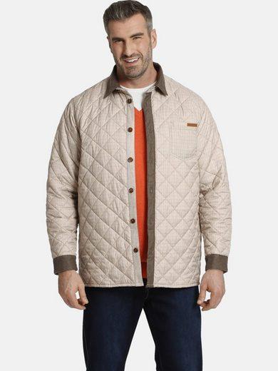 Charles Colby Outdoorhemd »DUKE FREDERICK« leicht wattiertes Outdoorhemd