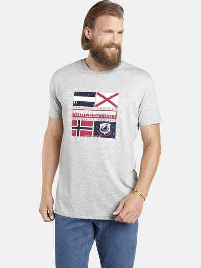Jan Vanderstorm T-Shirt »PREBEN« (2er-Pack) in zwei Farben, Comfort Fit