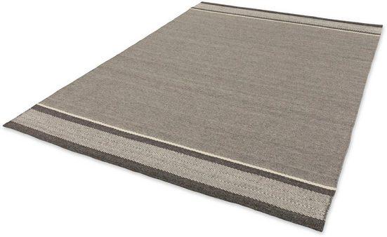 Wollteppich »Botana«, SCHÖNER WOHNEN-Kollektion, rechteckig, Höhe 8 mm, reine Wolle, Wohnzimmer