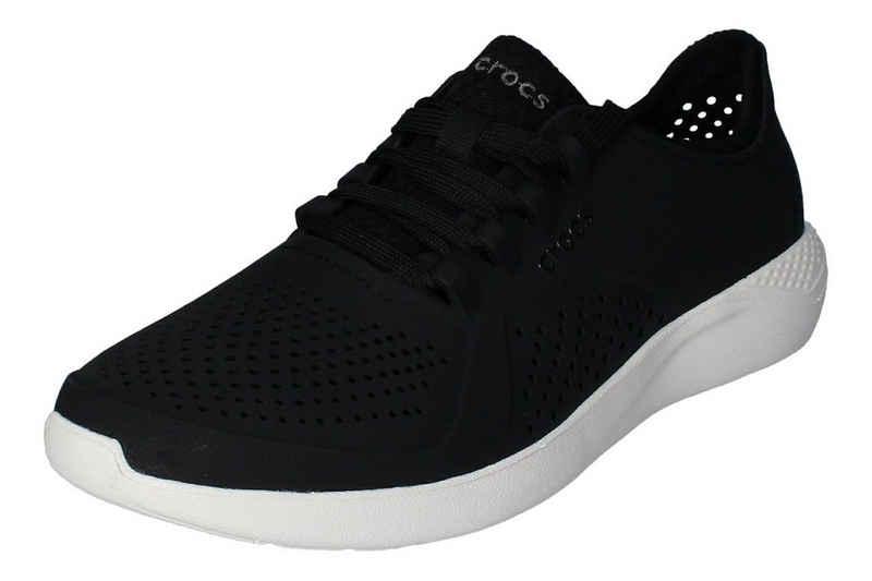 Crocs »LiteRide Pacer« Sneaker Schwarz Noire Blanc 066