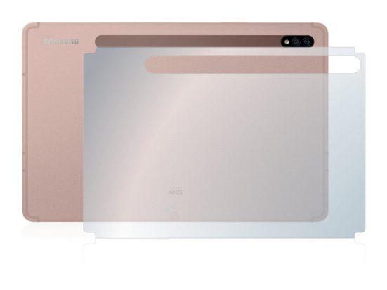 upscreen Schutzfolie »für Samsung Galaxy Tab S7 LTE 2020 (Rückseite)«, Folie Schutzfolie klar antibakteriell