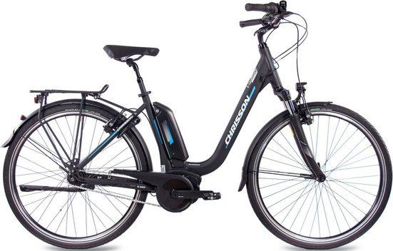 Chrisson E-Bike »E-Cassiopea«, 7 Gang Shimano Nexus SG-C3000-7C Schaltwerk, Nabenschaltung, Mittelmotor 250 W