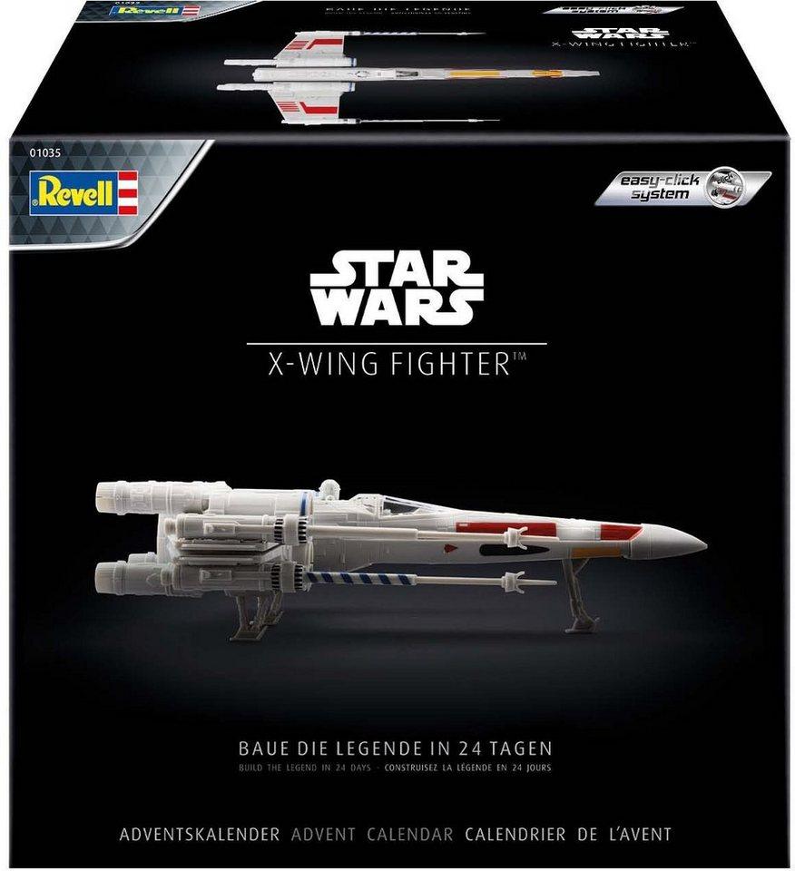 Revell® Adventskalender »Disney Star Wars - Raumschiffmodell X-Wing Fighter«, Made in Europe
