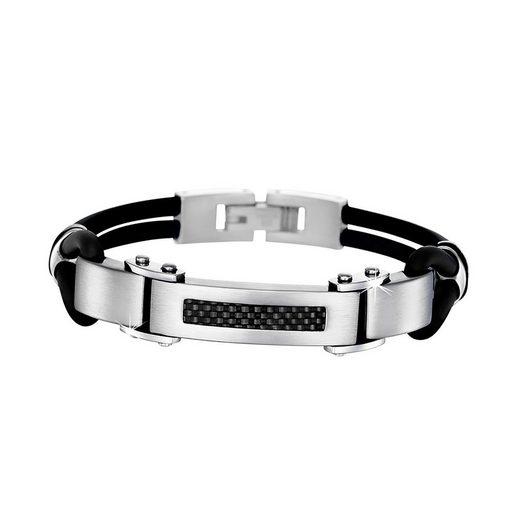 Lotus Style Edelstahlarmband »JLS1182-2-1 Lotus Style Armband schwarz LS1182-2/1«