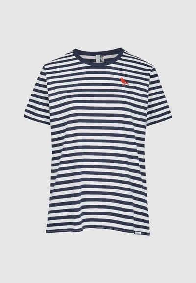 Cleptomanicx T-Shirt »Gull Stripe 2« in schickem Streifendesign