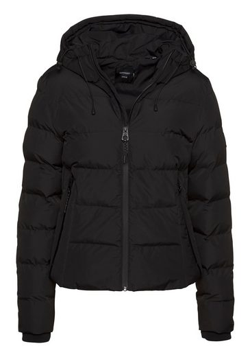 Superdry Steppjacke »SPIRIT SPORTS PUFFER« mit reflektierenden Highlights