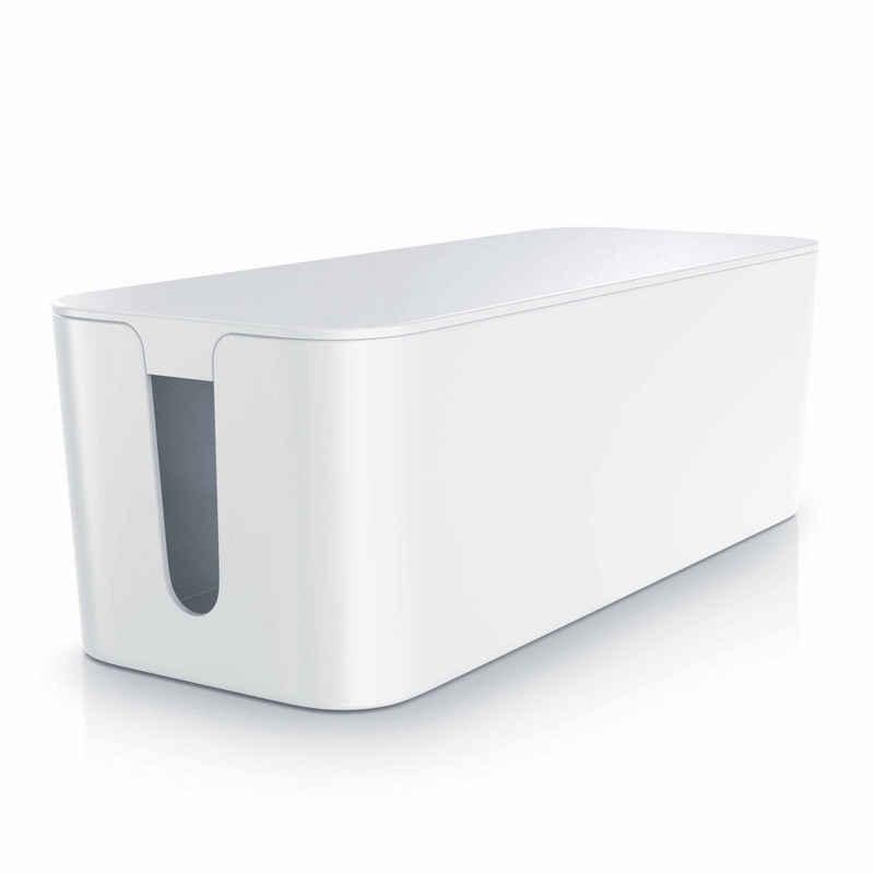 BEARWARE Kabelbox, Kabelbox mit Gummifüßen - Kabelmanagement / dezente Optik / Ladebox