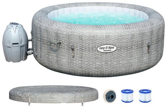 BESTWAY Set: Whirlpool »Lay-Z-Spa™ Honolulu AirJet™«, ØxH: 196x71 cm