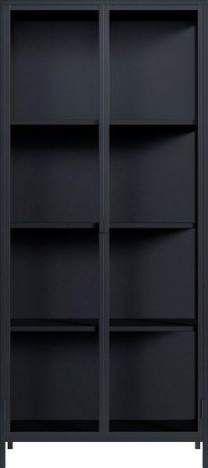 Homexperts Vitrine »Classic« designorientierte Doppel - Vitrine mit Glastüren